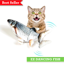 Load image into Gallery viewer, dancing-fish-toy-for-cat-ez-pet-life