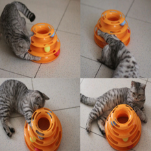 Load image into Gallery viewer, track-tower-toy-for-cat-ez-pet-life