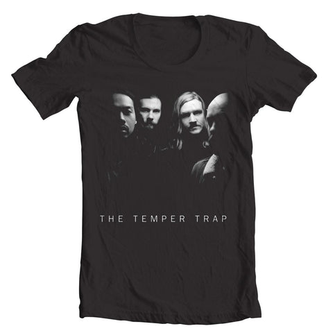 The Temper Trap (Photo) Black T-Shirt