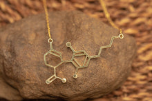 Load image into Gallery viewer, CBD Molecule Necklace - Meowy Janes