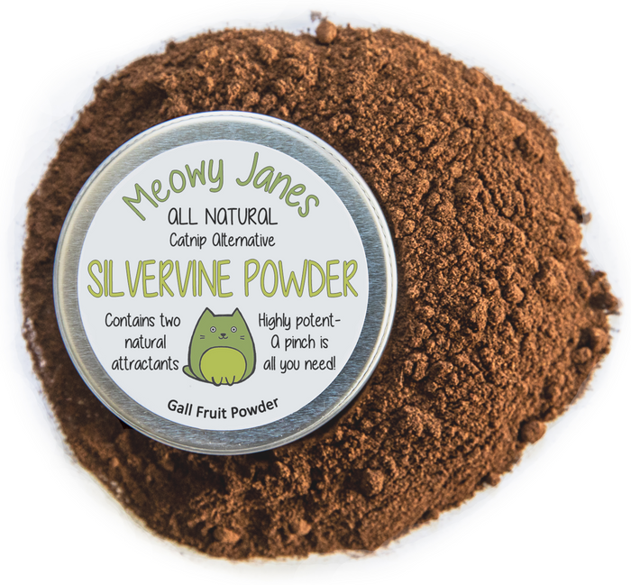 Silvervine Powder - Catnip Alternative - Meowy Janes
