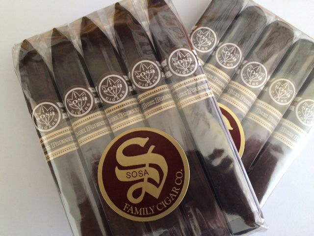 Sosa Box Pressed Maduro and Spiced 5-Pack
