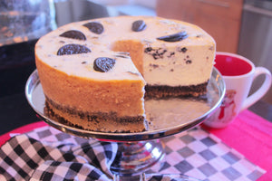 OREO COOKIE CHEESECAKE