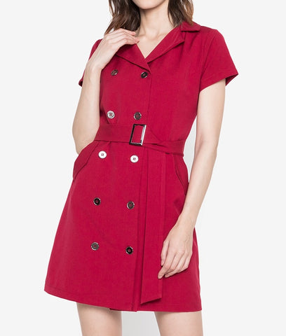 Trench Dress with Belt