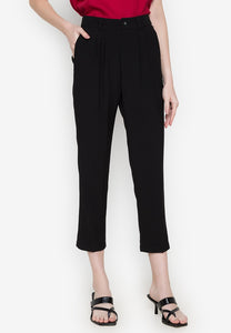 O-Ring Tie Waist Pants