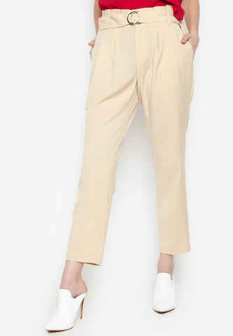 Waist Ring Belt Pants
