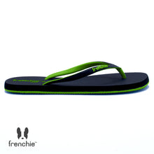 (Stock Update) Frenchie Sandal Jepit Wanita Onyx Cozy Black/Green/Green SOC04