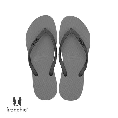 (Stock Updated) Frenchie Sandal Jepit Wanita Slim Night Cloud/Grey SSL08