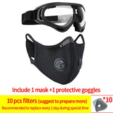 NDO™ PM2.5 Activ Carbon Cycling Face Mask Respirator