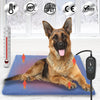 PetNF Outdoor Dog Cat Heating Pad, Pet Heating Pad with Timer, Electric Pet Bed Warmer, Waterproof Heating Pad for Dogs Cat
