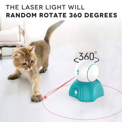 Separation Design and Timer Setting Laser Toy,360°Automatic Rotating Laser Toy