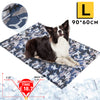 Large Foldable Waterproof Wear-Resistant Cooling Pad for Dogs 90x60 CM