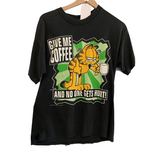 "Garfield ""Give Me Coffee And No One Gets Hurt"" T-Shirt"