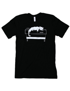 Black Linea Cat Tee