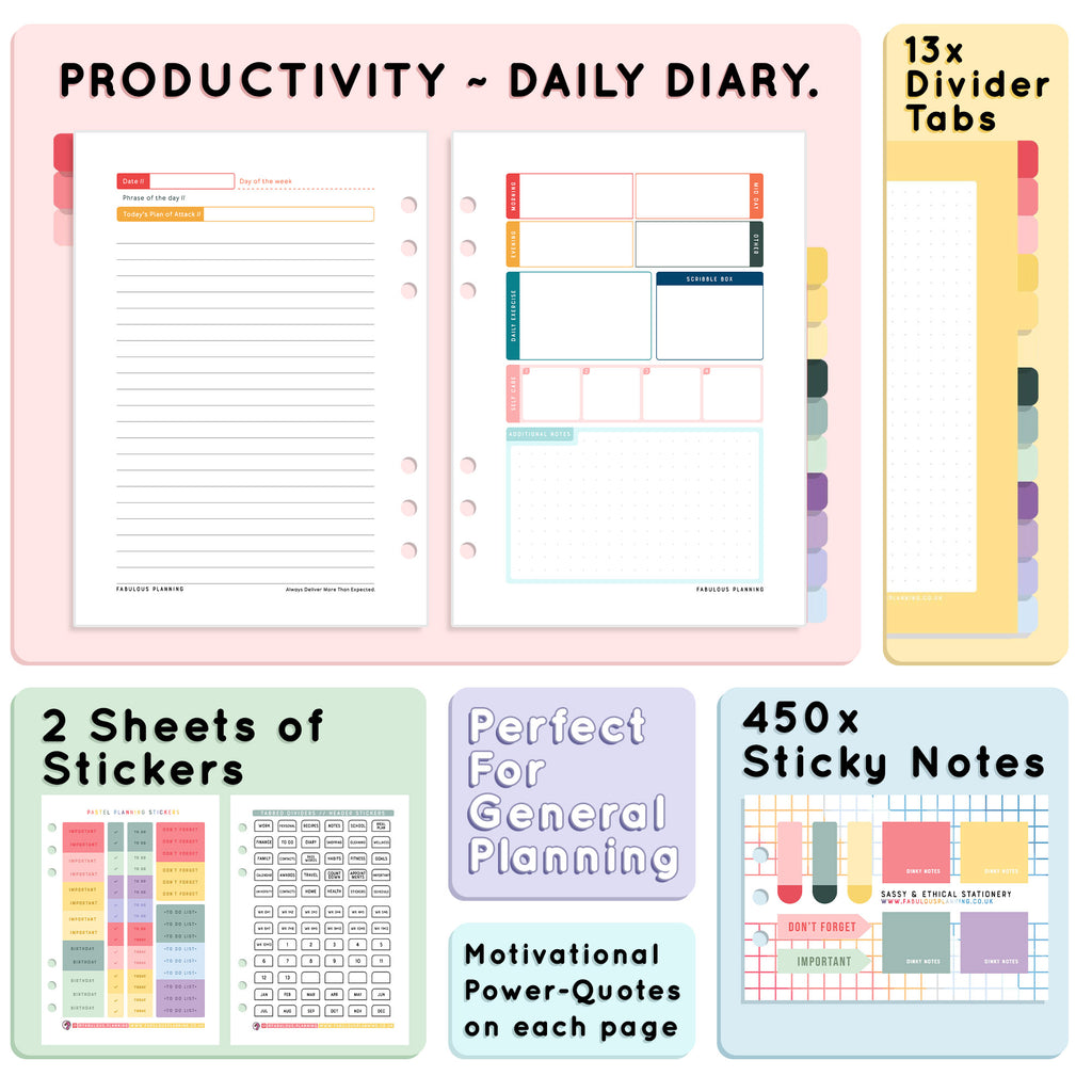 Productivity Inserts - Refill