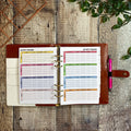 Hot Pink Flamingo - Food Diary Organiser