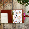 Gold Foil Honeycomb - Food Diary Organiser