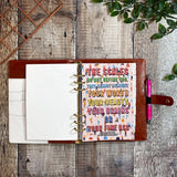 Fabulous Organiser ~ Colourful Dreams