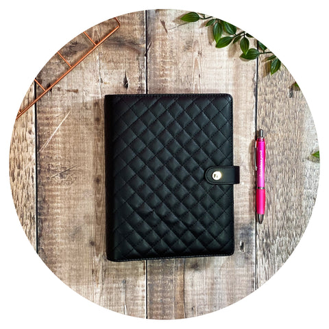 Fabulous Organiser ~ Black Padded
