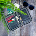 Black Padded - Travel Organiser