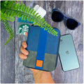 Midnight Blue Suede - Travel Organiser