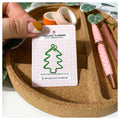 Christmas Tree - Pine Green - Cute Paperclip