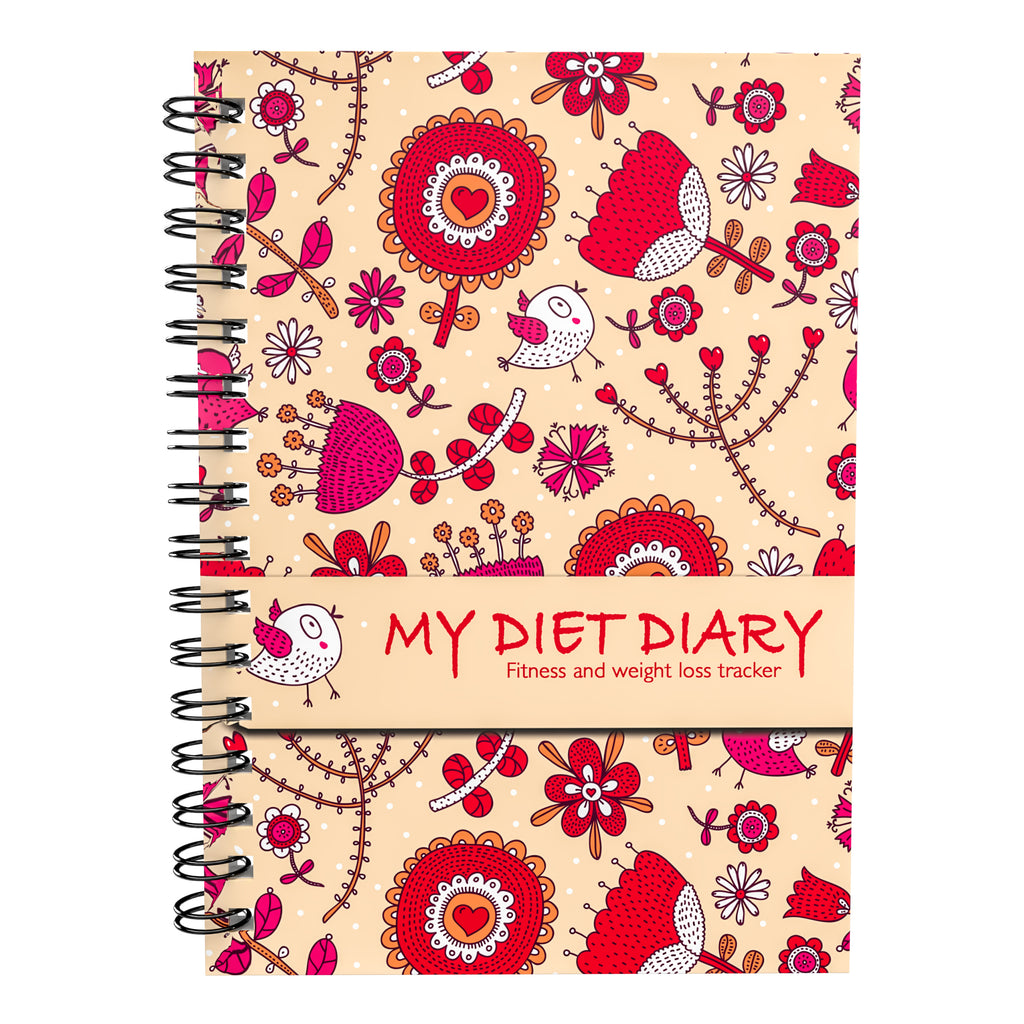 Food Diary - Cover 1 - Calorie