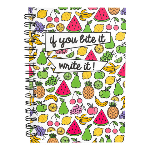 A5 Wire-Bound 6 Month Meal Planner