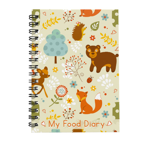 Food Diary - Cover 35 - SW