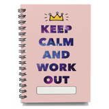 Pocket Size Workout Log - Cover 6