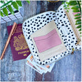 Pink Geometric - Travel Organiser