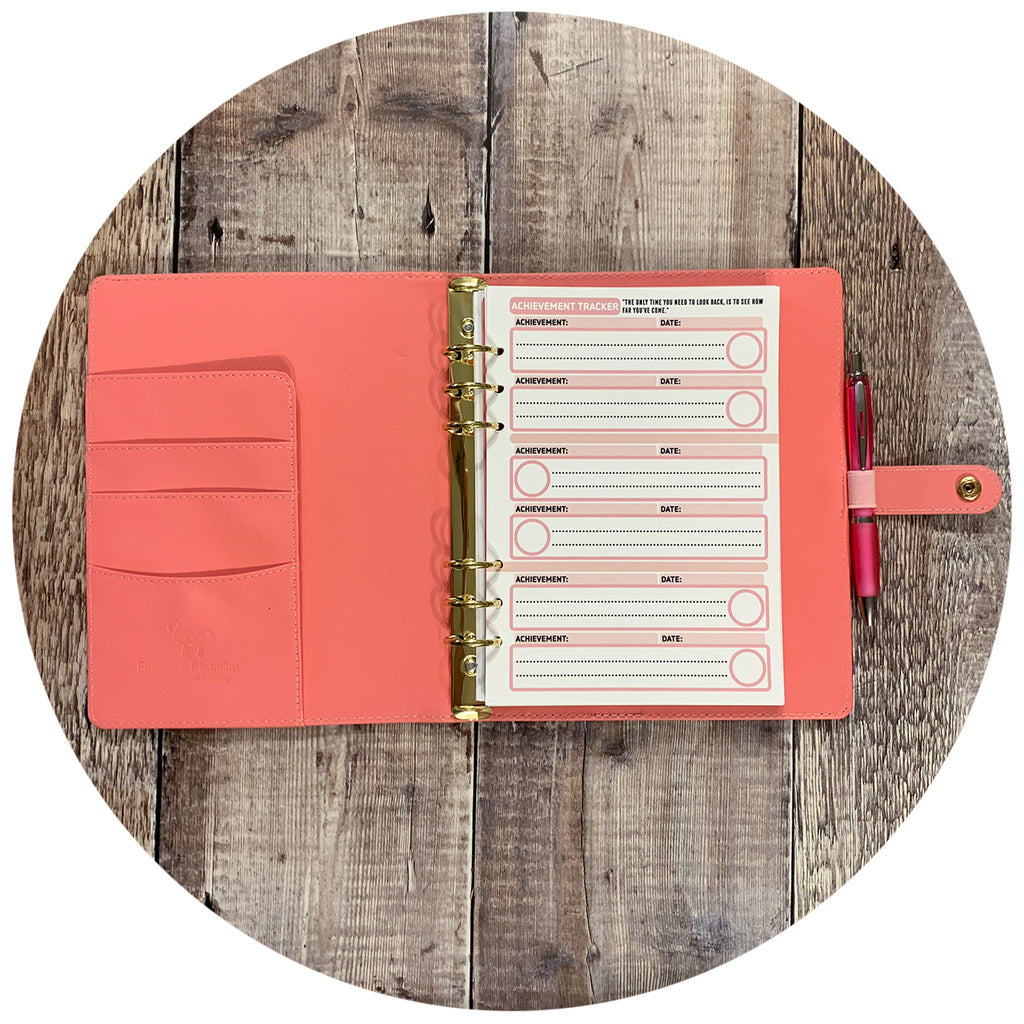Inserts - Pink Blush Achievement Tracker Pack