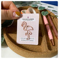 Felicia the Flamingo - Rose Gold - Cute Paperclip