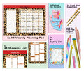 Exotic - Hectic Household - P3 Stationery Bundle
