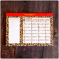 A4 - Yearly Planning Pad - Exotic Leopard