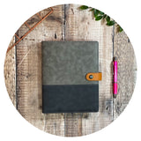 Serious Grey Suede - Productivity Organiser