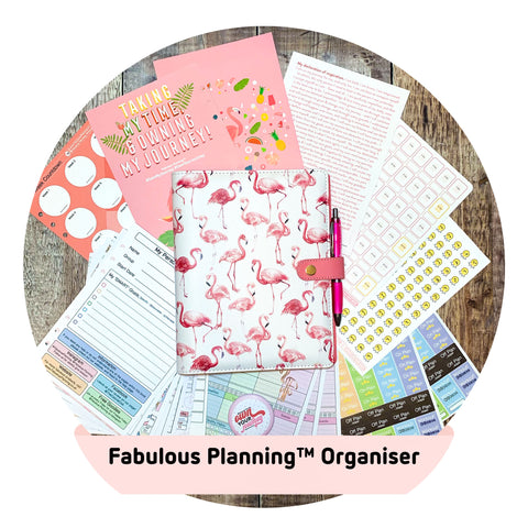Official FP Flamingo Organiser