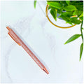 Rose Gold Glitter Fab-Pen