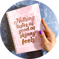 Food Diary - Rose Quartz - Slimming World Compatible - Compact