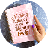 Food Diary - Cover Rose Quartz - WW