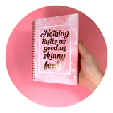 Food Diary - Cover Rose Quartz - Calorie