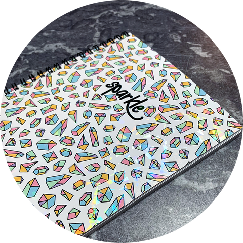 Food Diary - Cover 57 Sparkle - WW