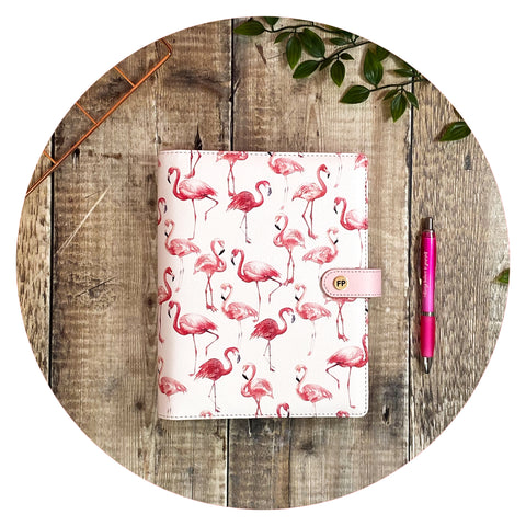Hot Pink Flamingo - Productivity Organiser