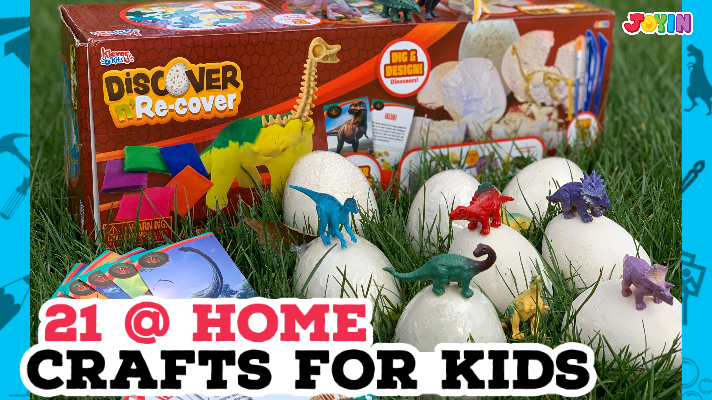 21 At-Home Crafts for Kids | #QuarantineActivities