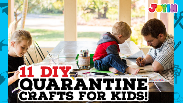 11 Fun DIY Quarantine Crafts for Kids!