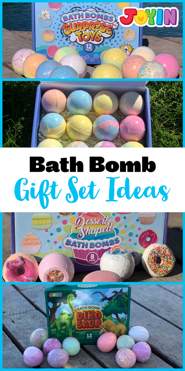 Bath Bomb Gift Set Ideas for Kids