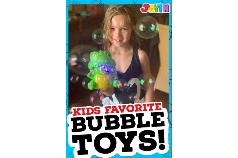 The Ultimate List of Bubble Toys!