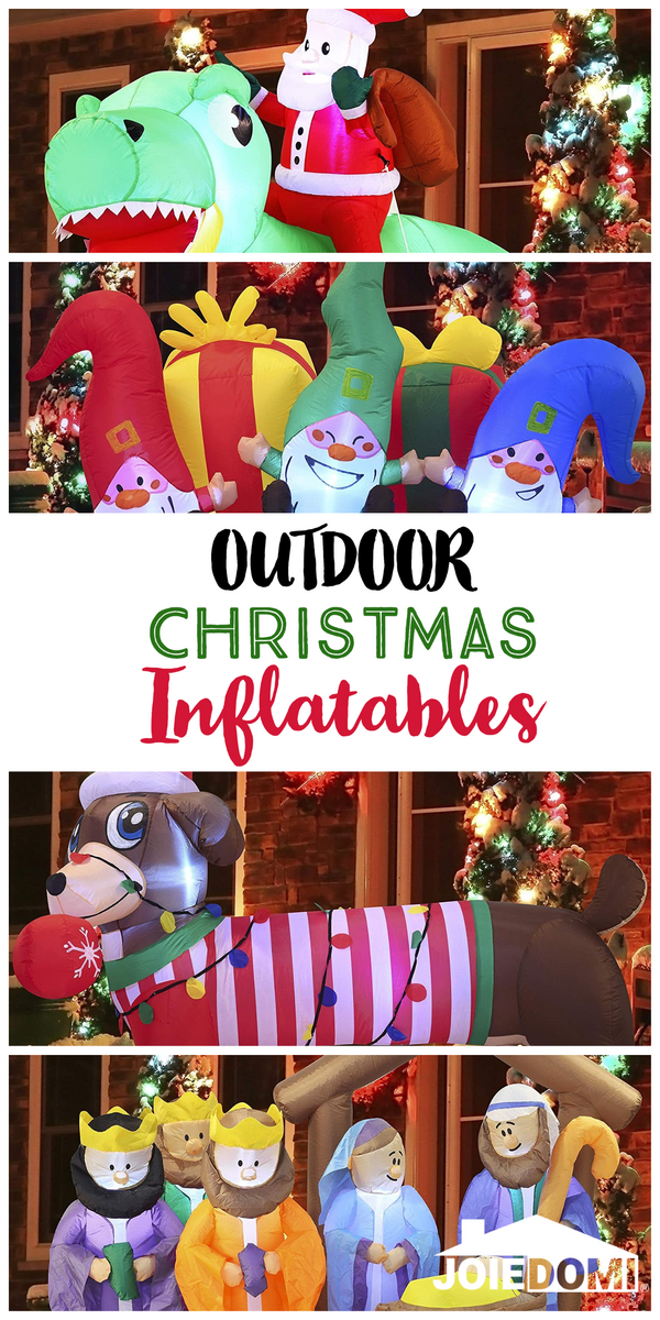 The Best Outdoor Christmas Inflatables of 2020!