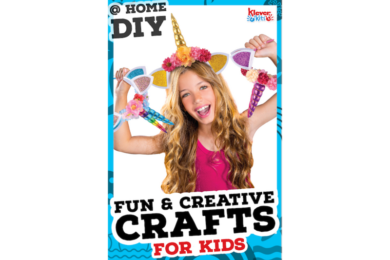 Stay At Home DIY: Fun & Creative Projects for Kids!