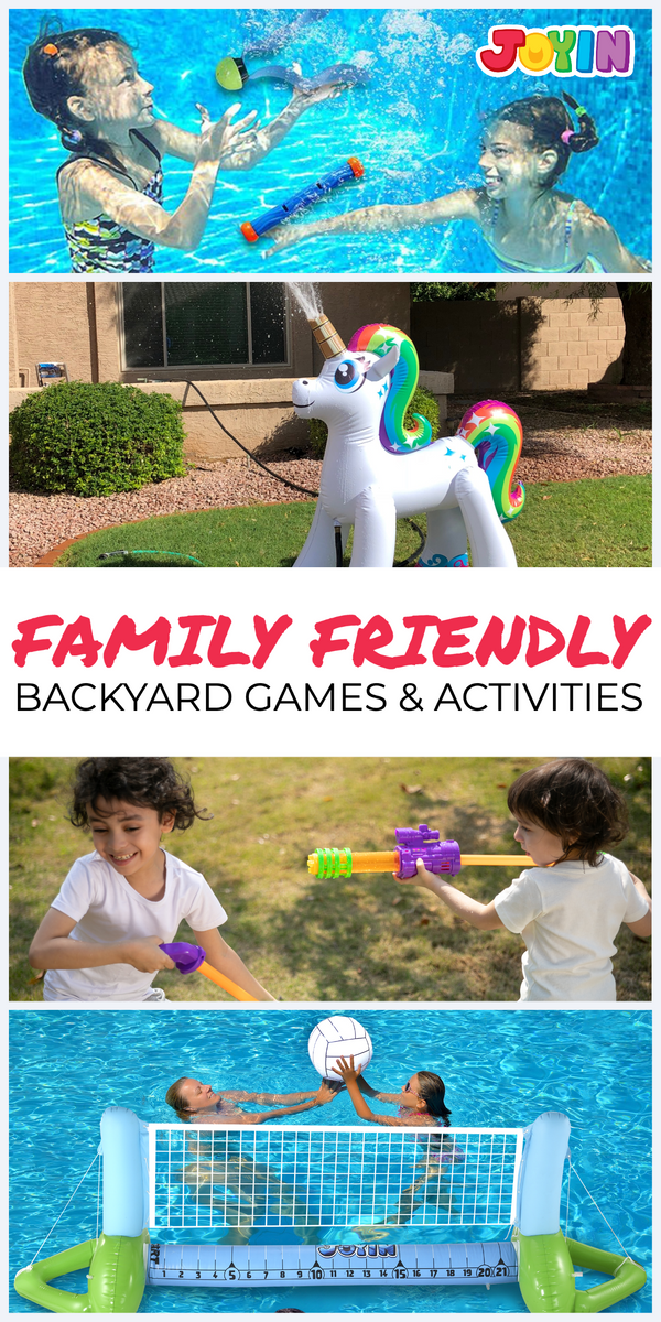 Family-Friendly Backyard Toys, Games & Activities!